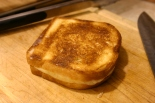 A system for dividing a grilled cheese sandwich could be implemented in a centralized or decentralized fashion. Image by Mack Male, used in accordance with the Creative Commons license.